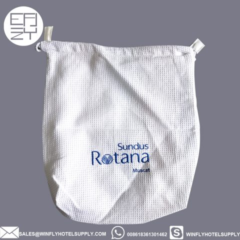 Best quality Rotana waffle cotton hairdryer bag